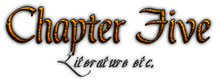 Chapter 5: Literature etc.
